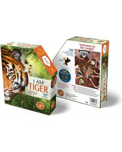 Head shaped puzzles Tiger