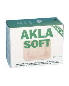 Plåster AKLA Soft NW 53x72mm 50/FP