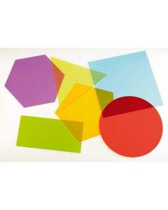 Geometriska figurer för ljusbord  6/FP