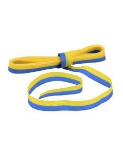 Sidenband 5mx15mm gul/blå
