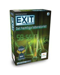 Spel Exit Det Hemliga Laboratoriet