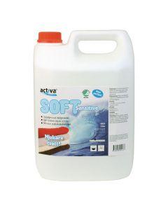 Sköljmedel Soft Sens. Oparfym. 5 liter