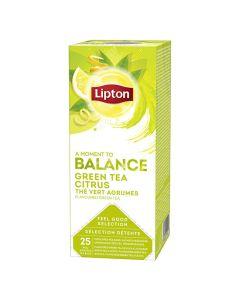 Te LIPTON påse Green Tea Citrus 25/FP