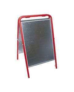 Gatuställ Sign 50x70cm röd