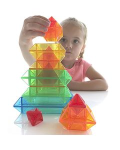 Geometriska figurer transparent 15/FP