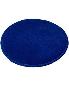 Matta RUND 400 blå