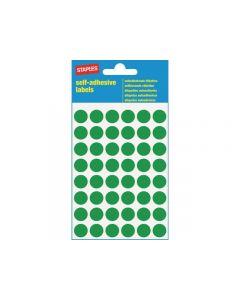 Etikett STAPLES 12mm grön 240/FP