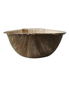 Palmbladstallrik djup PURE 425ml 15x6,5cm 25/FP