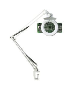 Förstoringslampa Unilux Zoom LED vit