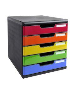 Blankettbox MODULO 5 lådor
