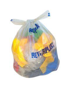 Plastsäck LD knyt Returp 240 liter 50my 10/RL