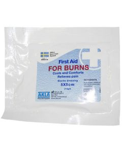 Brännskadekompress FOR BURNS 5x5cm 10/FP
