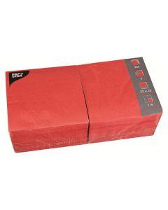 Servett 3-lags 33x33cm röd 250/FP