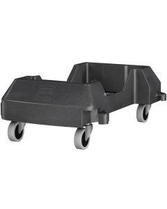 Vagn till papperskorg SLIM JIM® svart