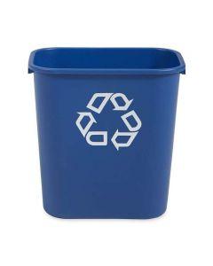 Papperskorg RUBBERMAID blå 26,6 liter