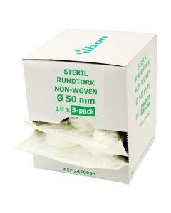 Rundtork NW steril 5-p 50mm 50/FP