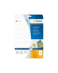 Etikett HERMA Movable rund Ø30mm 1200/FP