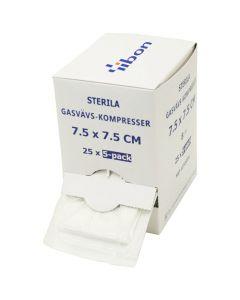 Kompress GV steril 5-p 7,5x7,5cm 125/FP