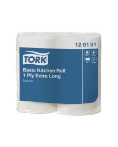 Hushållspapper TORK Uni lång 1-lag 2/FP