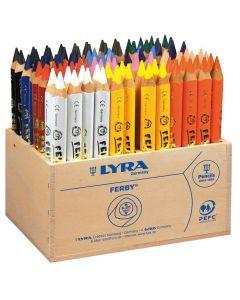 Färgpenna LYRA Ferby 12x8 färger