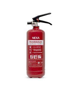 Brandsläckare NEXA pulver 2kg röd 13A