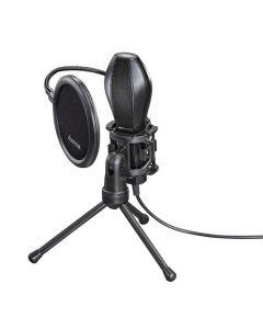 Mikrofon HAMA Stream USB Svart