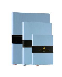 Anteckningsbok SMYTH 10,5x15 linj l.blå