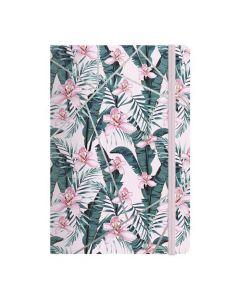Anteckningsbok BURDE Deluxe A5 Pink Jungle