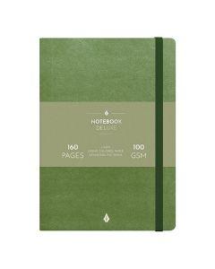 Anteckningsbok BURDE Deluxe A5 Green