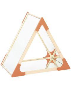 Triangelspegel med 5 speglar.