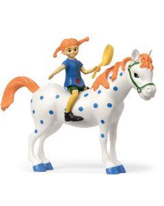 Pippi och Lilla Gubben - Figurset Micki