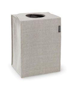 Tvättkorg Rektangulär 55 liter Grå