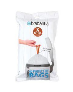 Avfallspåsar BRABANTIA 10-12 liter 40/FP