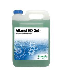 Såpa STROVELS Alfanol HD Grön 5l