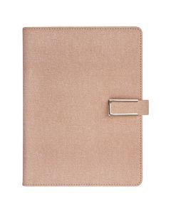 Weekly A5 konstläder rosa - 5770