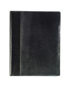 Stor Veckokalender skinn svart - 5908