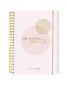 Life Planner Pink A5 - 1227