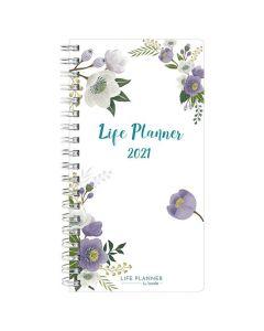 Life planner slim flower - 1278