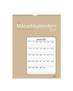 Stora månadskalendern - 1726