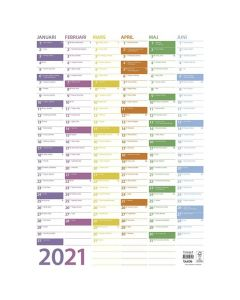 Väggblad Trend - 5075