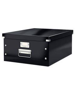 Förvaringslåda Click&Store stor svart
