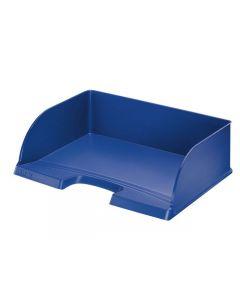 Brevkorg Jumbo LEITZ Plus öpp.lång blå