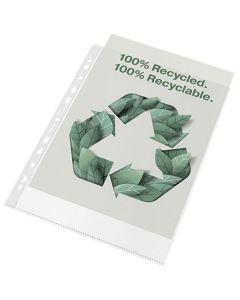 Plastficka ESSELTE rec A4 präg 0,07 100/FP