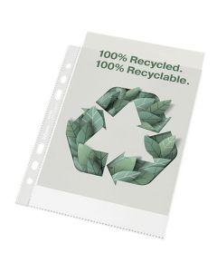 Plastficka ESSELTE rec A5 präg 0,07 100/FP