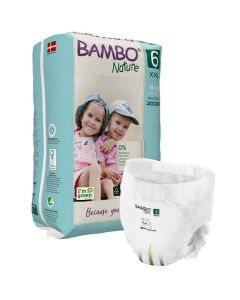 Blöja BAMBO Nature Pant S6 18+kg 18/FP