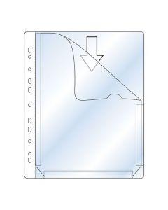 Plastficka bälg 0,17mm A4