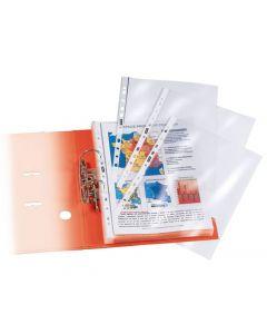 Plastficka STAPLES A4 0,15mm klar 25/FP