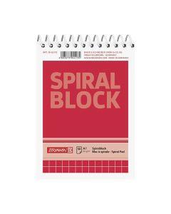 Spiralblock A7 60g 50 blad Rutat