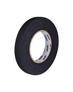 Tejp textil matt 50mx19mm svart