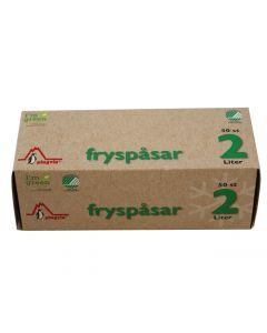 Fryspåse PINGVIN ECO 2 liter 22my 50/FP